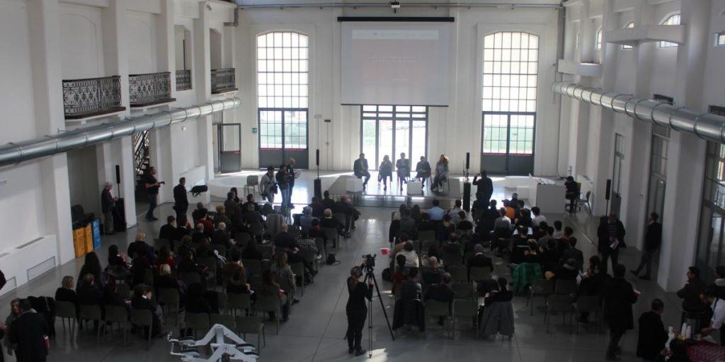 Open day del Laboratorio Aperto - Pubblico in Galleria centrale