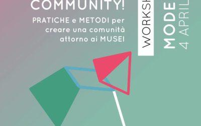 FAI COMMUNITY – MUSEOMIX 4 APRILE 2019
