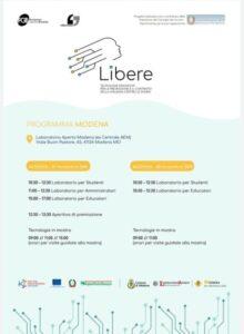 Programma Libere - Tecnologie innovative per la prevenzione e il contrasto della violenza contro le donne