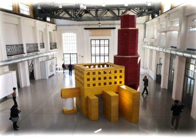 Ricostruzione della Macchina modenese di Aldo Rossi