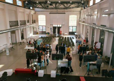 Allestimento evento Galleria Centrale