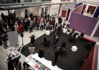 Presentazione della Mostra Passioni e Emozioni nella Galleria Centrale del Laboratorio