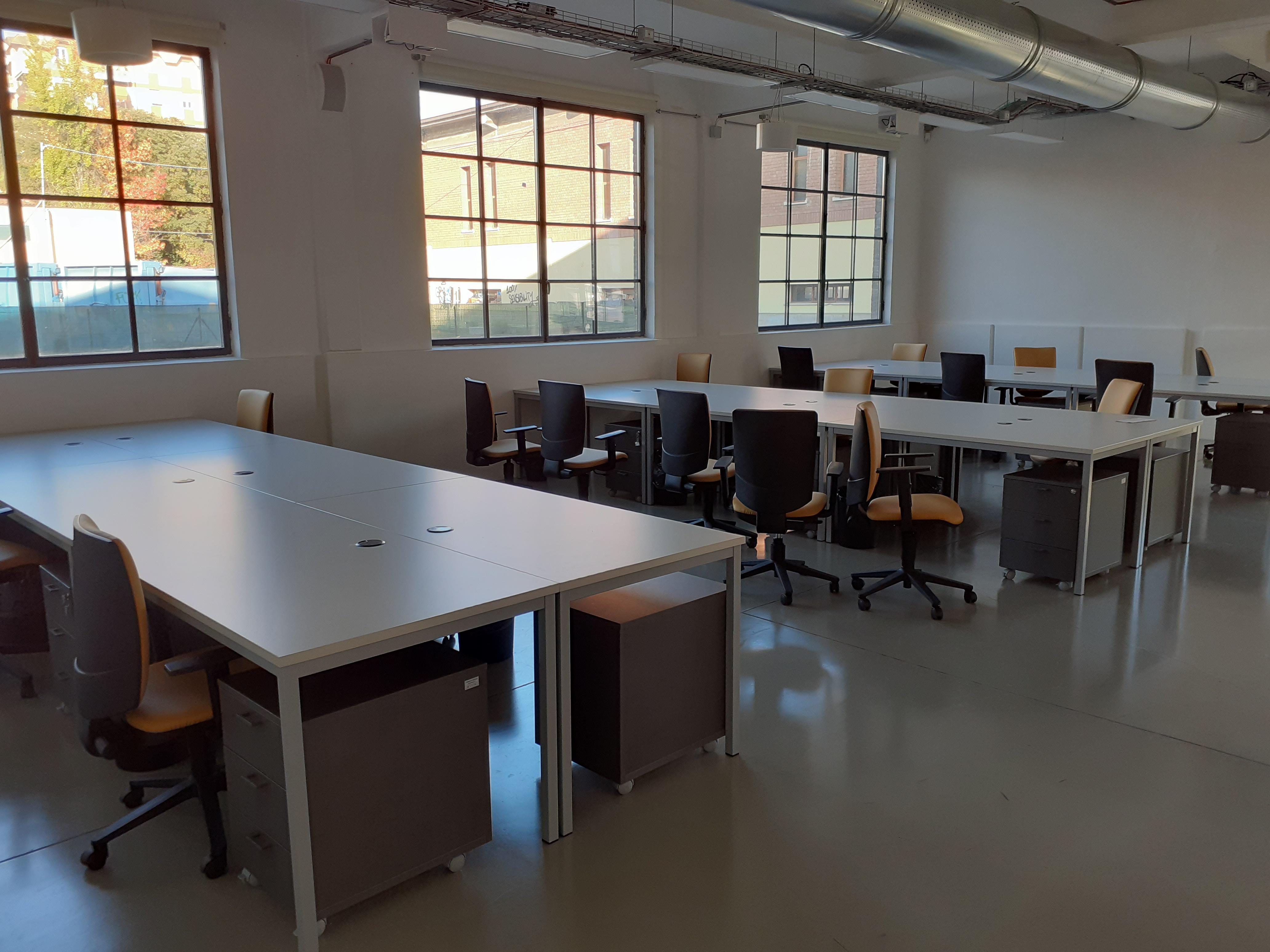 Spazio del Laboratorio Aperto dedicato al Coworking