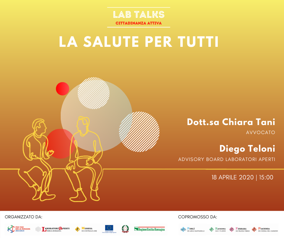 Lab Talk – Cittadinanza Attiva: La salute per tutti