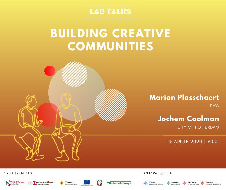 "Lab Talk ""Building creative communities"""