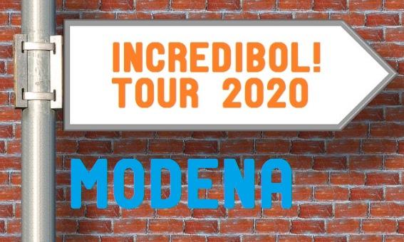Presentazione Incredibol Tour 2020 - Modena