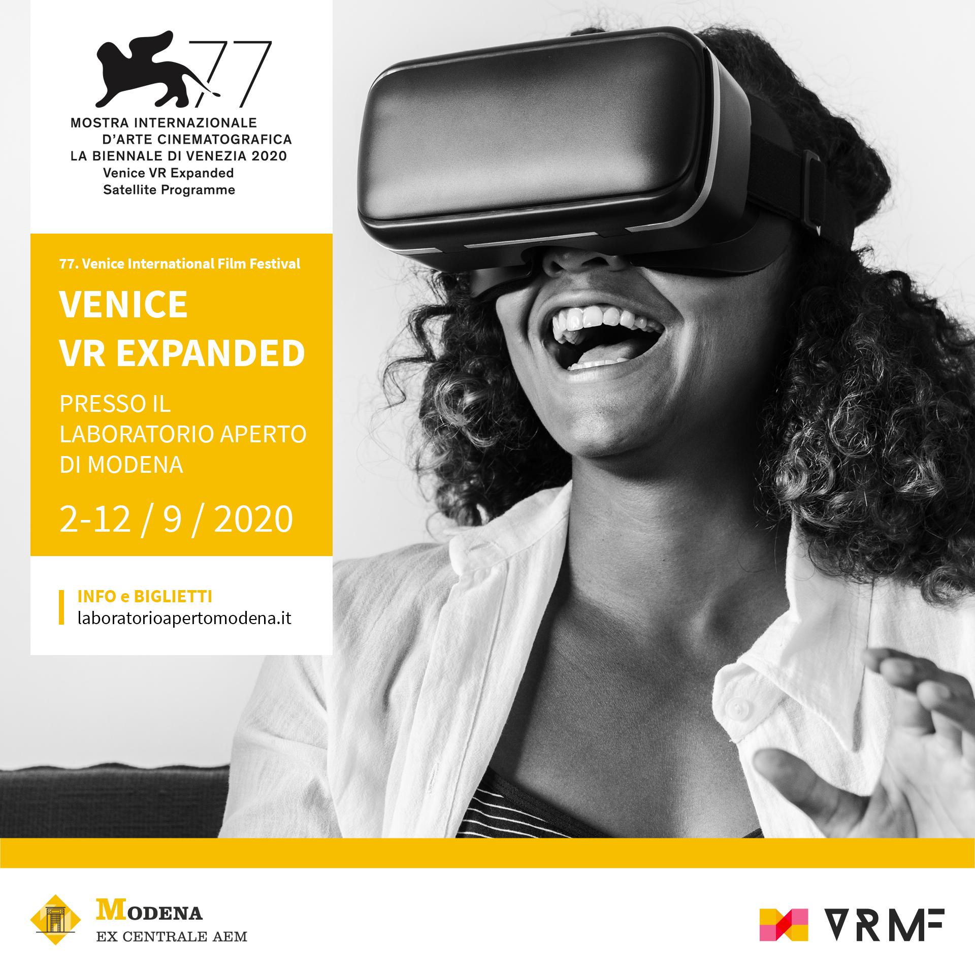 I CONTENUTI di VENICE VR EXPANDED  al Laboratorio Aperto