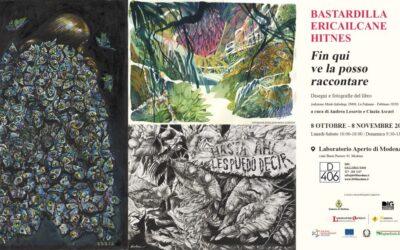 """""""Fin qui ve la posso raccontare"""": l'Amazzonia in mostra nei disegni di Ericailcane, Bastardilla e Hitnes"""