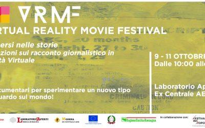 8-11 Ottobre: VRMF – Immersi nelle storie