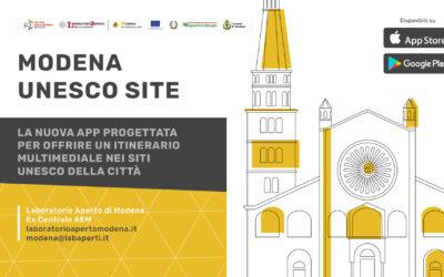 Modena Unesco Site, un'app innovativa