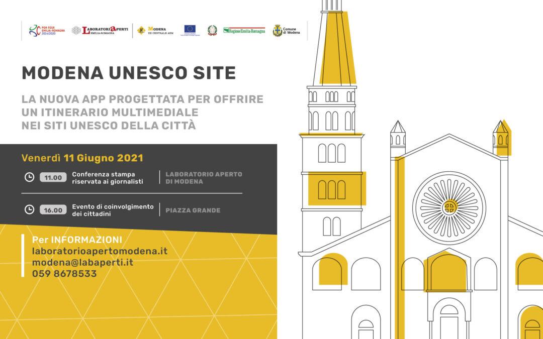 Modena UNESCO Site: un itinerario multimediale