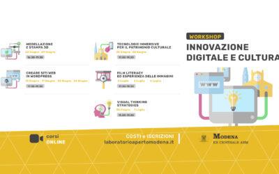 Workshop – Innovazione Digitale e Cultura