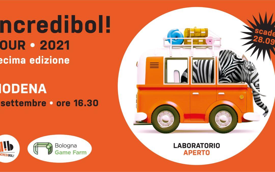Torna a Modena l'Incredibol! Tour