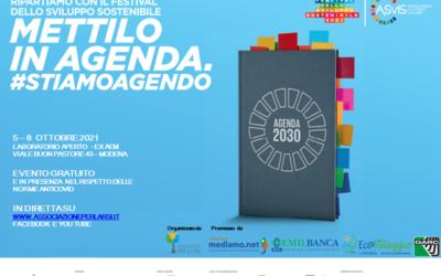 Festival dello Sviluppo Sostenibile – Mettilo in Agenda